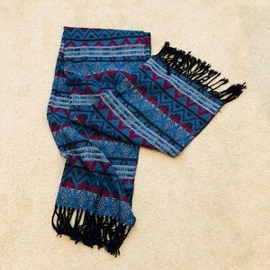 """Accessories - Fringed Scarf 63""""X24"""""""